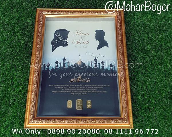 Mahar Bogor 21 (Siluet & Masjid)